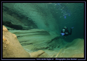Diving the Verzasca River... C'est que du bonheur... :O)... by Michel Lonfat 